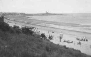 View of the beach - 1949